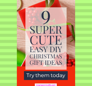Are you looking for a super quick easy Christmas present for family or friends. How about checking out these 9 cute ideas for Christmas gifts.