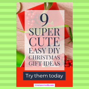 9 Super Cute Easy DIY Christmas Gift ideas