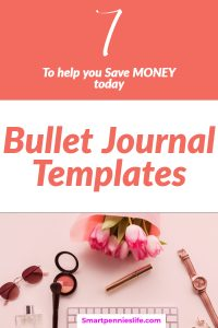 Do you want to save money today? How about starting a bullet journal to help you save money. This post shows you 7 amazingly simple templates to start your bullet journal money saving and organization now.