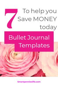 7 EASY and amazing templates to help you save and organize your money today.