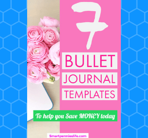7 Simple Amazing bullet journals to help you save & organize your money