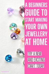 See how easy it is to make your own Jewellery at home today. Includes information on Bead Jewelry making, bead weaving jewelry making and macrame and more.