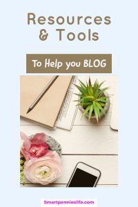 Are you looking for suggestions for tools and resources you should be using on your blog? I have listed the different courses, tools and resources I use to blog with.