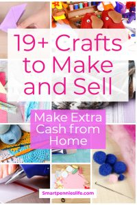 Do you need to make extra cash? How about making your own craft DIY items try this post to get inspiration for selling your items online or locally at craft fairs.