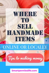 Where should you sell your handmade craft products? Should you go online or via a bricks and mortar shop? If you want to know how to make money selling your crafts using your own website or another online platform and want hints and tips check out this post today.