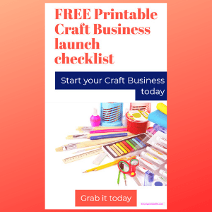 FREE Checklist for starting a craft business