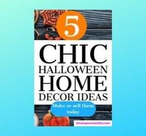 5 Chic Halloween Home Decor Ideas (make & Sell)