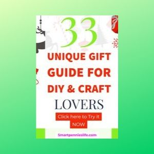 33+ Unique Christmas Gifts (for Craft & DIY lovers)