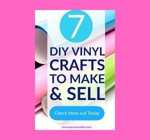 7 Best Cricut Vinyl Crafts to Make and sell