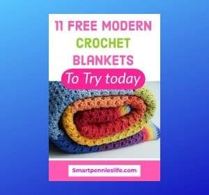 11 FREE Modern Crochet Blanket Patterns
