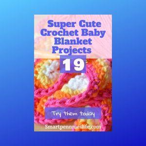 19 Easy FREE Crochet Baby Blanket patterns