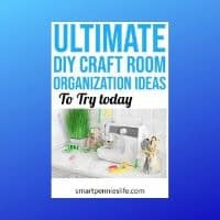 Ultimate Craft Room Organization & Projects (DIY Ideas)
