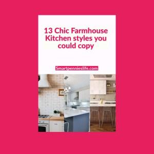 13 Modern Farmhouse kitchen Decor Ideas (To copy)