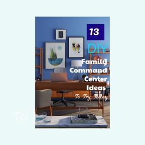 13 DIY Family Command Center Ideas (to copy)