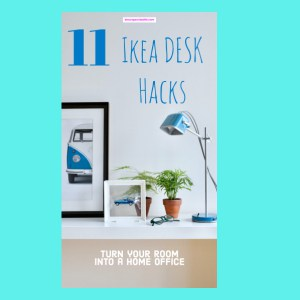 ikea desk hacks diy ideas