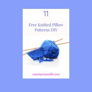 free diy knitted pillow projects to try