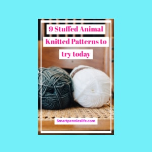 Searching for knitting patterns for stuffed animals? How about trying this post which includes easy knitted toys including teddy bears, bunnies as well as small stuffed animals. #teddybears #knitting #patterns #projects.