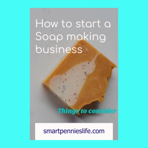 soap making business information